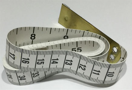 Tape measure is an estimating tool